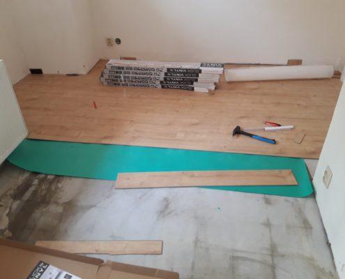 Pokládka Vynilové podlahy